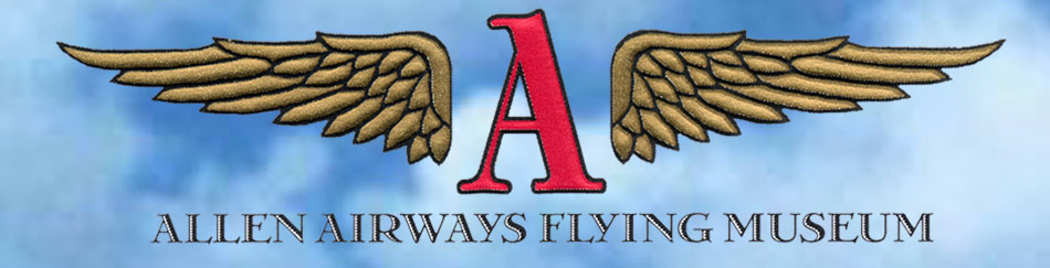 Allen Airways Flying Museum Logo